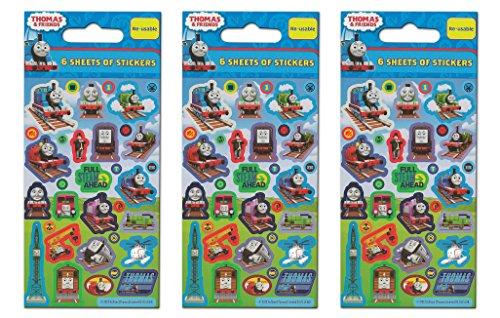 Paper Projects 01.70.24.018 Lot de Stickers de fête Thomas et Ses Amis