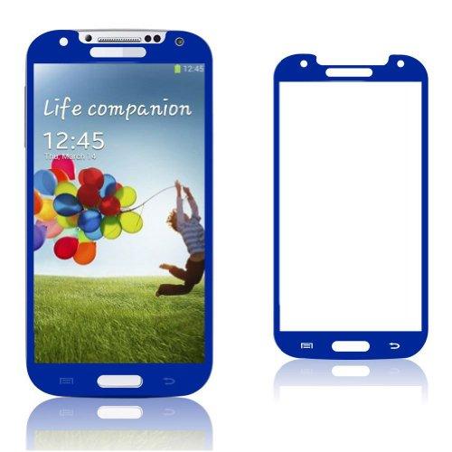 Protector de pantalla i9505 Premium Azul color Asahi 0,4 ml i9500 templado vidrio Samsung Galaxy S4 Oleophobic y Lyophobic