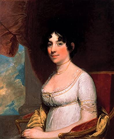Gilbert Stuart - Dolley Payne Madison (Mrs. James Madison) -