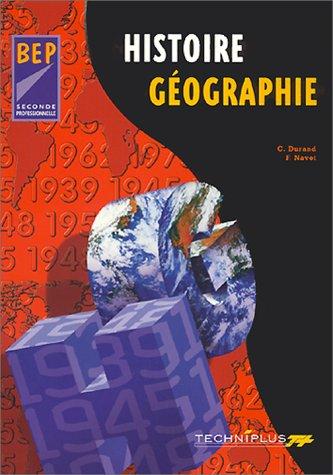 Histoire-géographie, 2nde. Livre du professeur