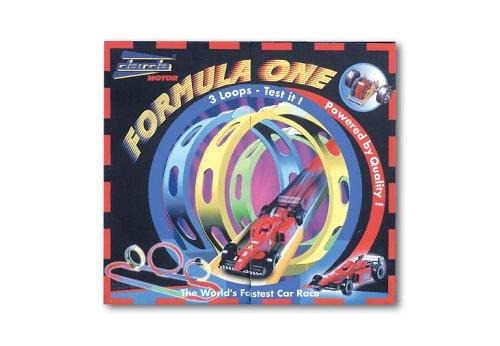Darda 50131 - Formula One, inklusive rotem Rennwagen, 530 cm Streckenlänge