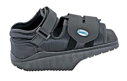 Darco - scarpa post-operatoria con cuneo, s, colore: nero ambidestra