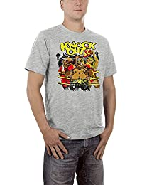 Touchlines Knock Out, Camiseta Para Hombre