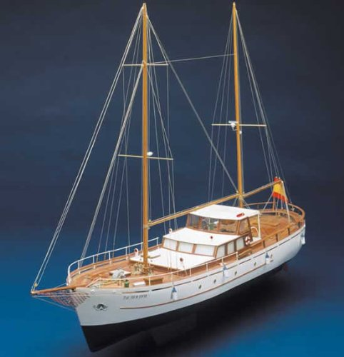 Mantua Modelle Bruma 1 / 45th Maßstab hölzernes Modell Schiff Kit 736 (Hölzerne Schiffe-kits)