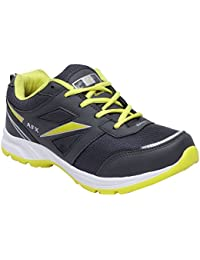 CF_Better Deals Mens Synthetic Mesh Grey Green Coloured Sports Shoe| Running Shoes| Pro Running Shoes| Sprint...