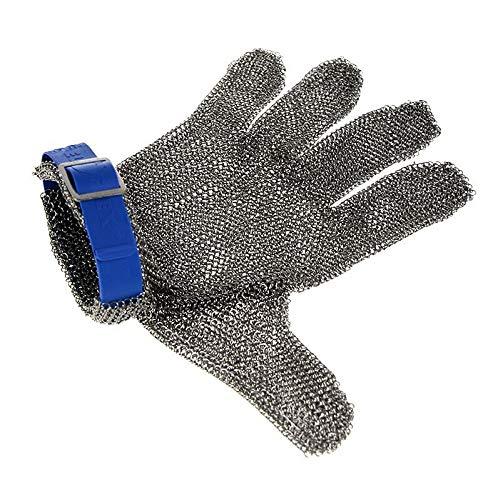 Austernhandschuh Euroflex - Kettenhandschuh, Größe L (3), blau, 1 St