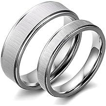 Suchergebnis auf Amazon für Trauringe Silber Matt