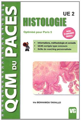 Histologie UE2 : Optimisé pour Paris 5