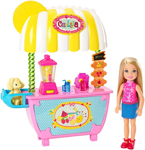 Barbie Mattel CMY33 - Modepuppen, Limonadenstand und Chelsea Spielset