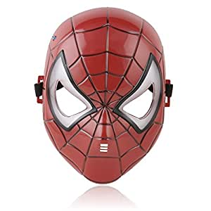 Masque Pixnor @ Brillant LED Spiderman Cosplay maquillage Toy