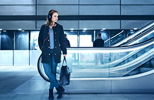 Jabra Vega Noise Cancelling Over-Ear-Kopfhörer (Active Noise Cancellation, Stereo-Headset, 3,5-mm-Audioanschluss, Freisprechfunktion, inkl. Audioadapter für Flugzeugsitz) - 9