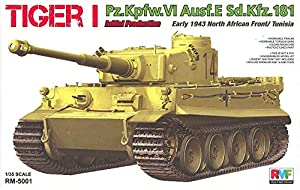 Rye Field Model RM de 5001 - Maqueta de Tiger I Initial Production Early 1943