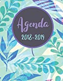 "Agenda 2018-2019: Daily Weekly and Monthly Planner, Agenda Schedule Orgaizer Logbook, 8.5""x11"" sized,108 Pages: Volume 1"