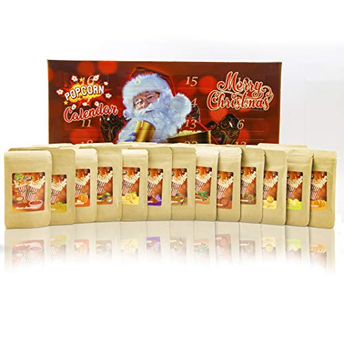 Adventskalender Snacks Nussmischungen Knusperkalender Superfood