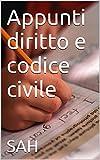 Appunti diritto e codice civile