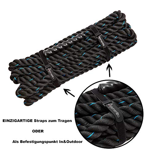 Zoom IMG-2 alementra sports premium battle rope