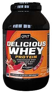 QNT Delicious Whey Protein Powder - 2.2 kg (Strawberry)