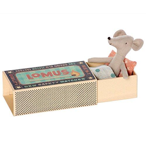 maileg-cousin-topo-lomus-matchbox-topo-boxed-con-letto