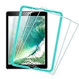 ESR Protection Ecran pour iPad 2018/2017 [pack de 2] [Gabarit de Pose Inclu], Film en Verre Trempé 0.3mm 9H Ultra Résistant pour Apple iPad 2018 / iPad 2017 / iPad Air 2 / iPad Pro 9.7 / iPad Air