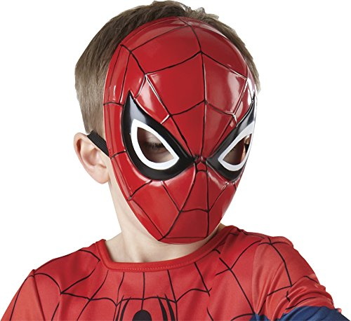 Rubies Marvel Ultimate Spider-Man Molded Face Mask, Child Size