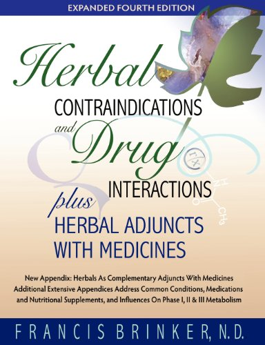 Herbal Contraindications and Drug Interactions : Plus Herbal Adjuncts With Medicines, 4th Edition par Francis Brinker