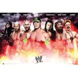 "GB Eye ""WWE, Collage 2014"" Maxi Poster, Multi-Colour, Pack of 199"