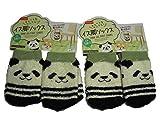 Cute Panda Möbel Stuhl Bein Socken Bodenschutz 8,9x 6,1cm Polyester (8Stück)