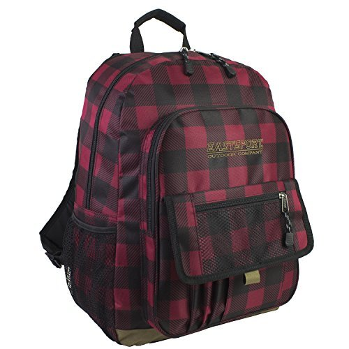 eastsports-sac-a-dos-loisirs-red-and-black-plaid