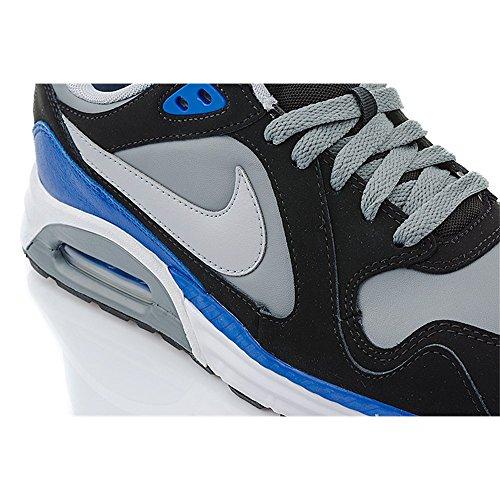 Nike 652824 100 Air Max Trax Leather Herren Sportschuhe - Running grau/blau