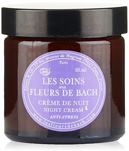 Elixirs & Co Les soins aux Fleurs de Bach BIO : Crème de nuit Anti-Stress 60 ml