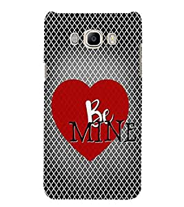 FUSON Red Heart Be Mine 3D Hard Polycarbonate Designer Back Case Cover for Samsung Galaxy J7 (6) 2016 :: Samsung Galaxy J7 2016 Duos :: Samsung Galaxy J7 2016 J710F J710Fn J710M J710H