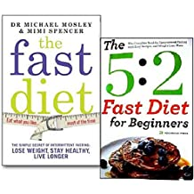 The 5:2 Diet Collection 2 Books Set(The Fast Diet), (The 5:2 Diet Cook Book: ...
