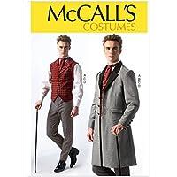 McCall's Patterns MC7003MEN - Patrón de disfraces para hombre (S, 34-36; M, 38-40; L, 42-44; XL, 46-48; XXL 50-52)