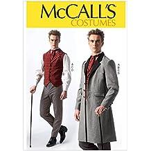 McCall s Patterns MC7003MEN - Cartamodello per costume d epoca da uomo 0d2a6664445