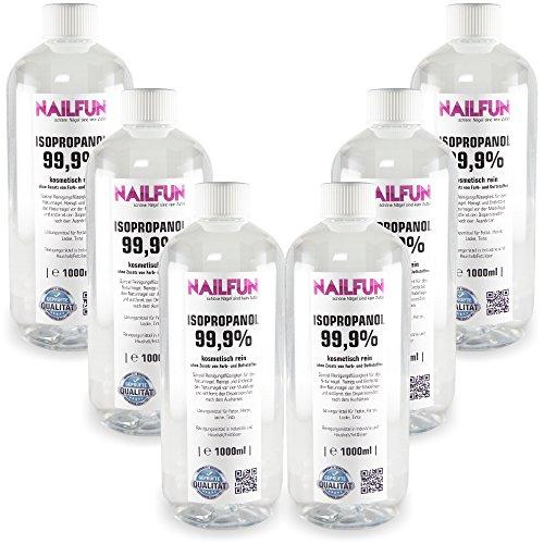 6 x 1 Liter Isopropanol Isopropylalkohol IPA 99,9%