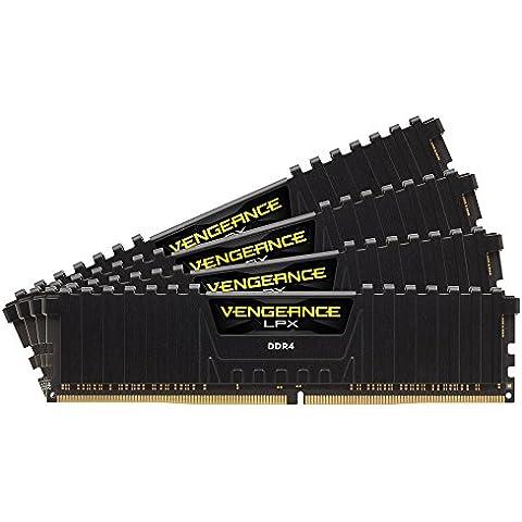 Corsair CMK16GX4M4A2133C15 Vengeance LPX Memoria per Desktop a Elevate Prestazioni