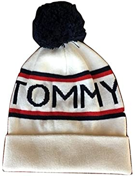 Tommy Hilfiger Wintermütze Bommelmütze Strickmütze one Size