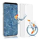2 X Samsung Galaxy S9 Panzerglas, Profer Schutzfolie Glas Folie [Anti-Kratzen] [Anti-Bläschen] Displayschutzfolie für Samsung Galaxy S9 (Glasfolie)