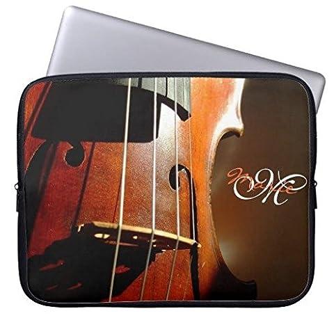 Electronics Sac en néoprène pour ordinateur portable manches 160524–3 13-13.8 inches Personalized Monogram Music Violin
