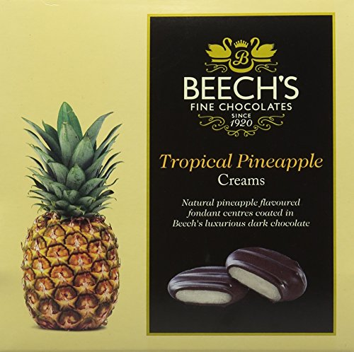 Beech's Fine Chocolate Dark Chocolate Tropical Pineapple Creams 90 g