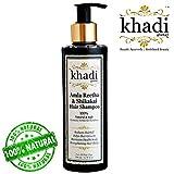 Best Shampoo For White Hairs - Khadi Global Amla Reetha Shikakai Hair Shampoo, 200ml Review
