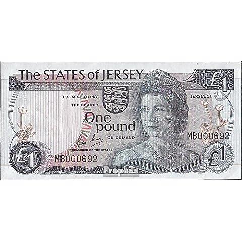 Regno Unito-Jersey Pick-No.: 11b 1976 1 Pound (Banconote )
