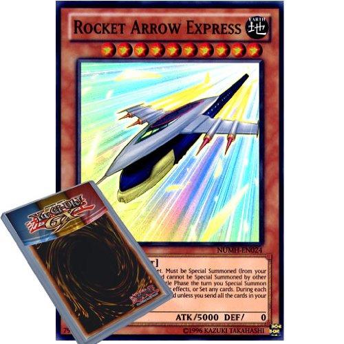 YuGiOh : NUMH-EN024 1st Ed Rocket Arrow Express Super Rare Card - ( Number Hunters Yu-Gi-Oh! Single Card )