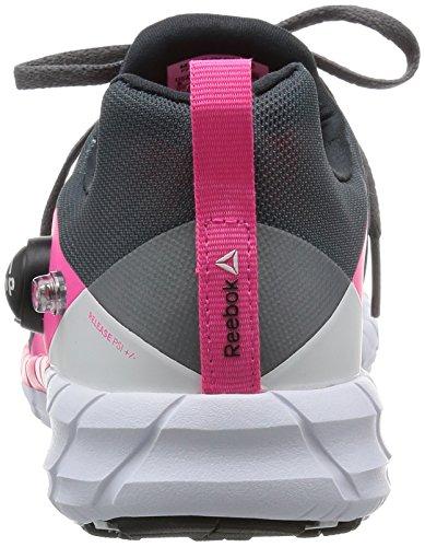 Reebok ZPump Fusion 2.0 Damen Sportschuhe, Laufschuhe Anthrazit/Pink