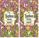 #6: Typhoo Detoxing Organic Slim Tea - 40 envelope bags ( 2 Packs of 20 bags in each)