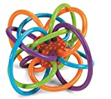 #2: Motherly Baby toys Winkel Rattle and Sensory Teether Activity Rings (3-12months, Multicolour)