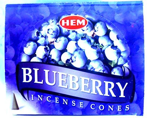 HEM Räucherkegel incense cones Blueberry Blaubeere 12x10 Stück=120