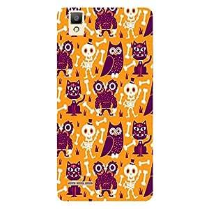 skull nd Cat Design-Mobile Back Case Cover For oppo f1