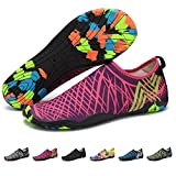 Upstartech Barefoot Water Shoes Mens Womens Quick Dry Unisex Sports Aqua Shoes Lightweight Durable Sole For Beach Pool Sand Swim Surf Yoga Water Exercise (5UK/38EU, Style 2)