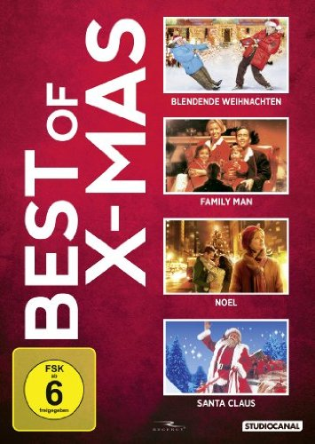 Best of X-MAS: Blendende Weihnachten / Family Man / Noel / Santa Claus [4 DVDs]